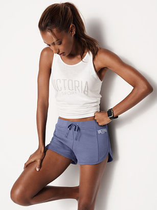 Victorias Secret French Terry Drawstring Short $29.50 thestylecure.com