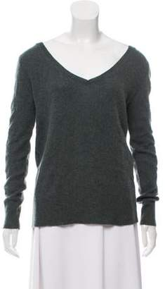 360 Cashmere Oversize Cashmere Sweater Green Oversize Cashmere Sweater
