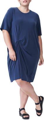 Universal Standard Monica Knot T-Shirt Dress