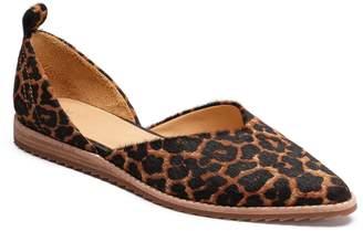 Bill Blass Sybil Genuine Calf Hair Pointy Toe Flat