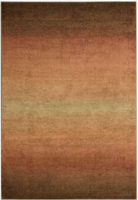 Nourison PER06-099446144768 Perception (PER06) Rust Rectangle Area Rug