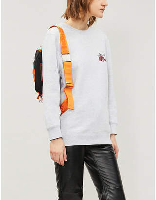 Stussy Dragon cotton-jersey sweatshirt