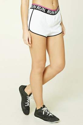 Forever 21 Active Run Graphic Shorts