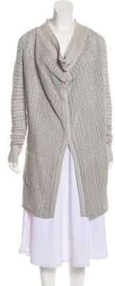 Inhabit Linen And Cashmere Blend Cardigan