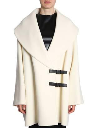 Lanvin (ランバン) - Coat With Double Logo
