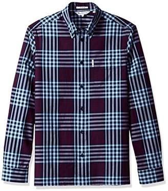 Ben Sherman Men's 70s Gingham Check Archive Shirt