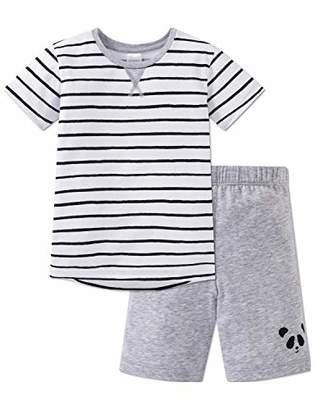 Schiesser Boy's Relax Anzug Kurz Pyjama Set,(Size: 0)