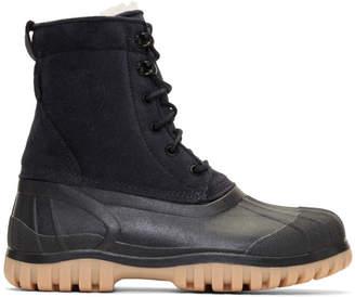 Diemme Black Suede Antara Boots