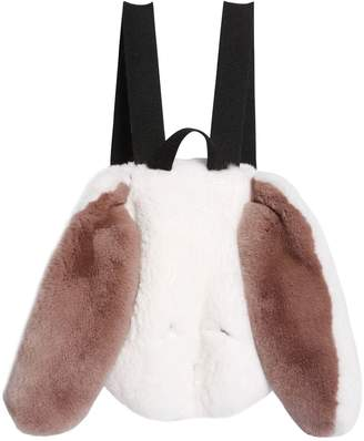 Rabbit Ears Fur Backpack