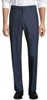 Zanella Parker Flat Front Wool Trousers