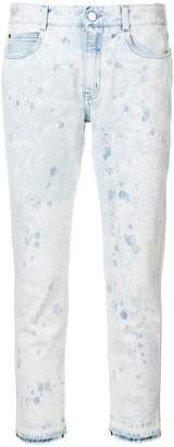 Stella McCartney bleached jeans