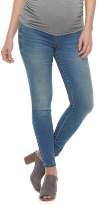 A Glow Maternity a:glow Inset Elastic Underbelly Panel Jeggings