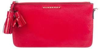 Burberry Peyton Patent Leather Clutch