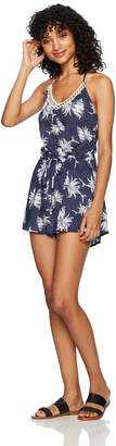 Roxy Women's Hippy Hour Romper Cover up