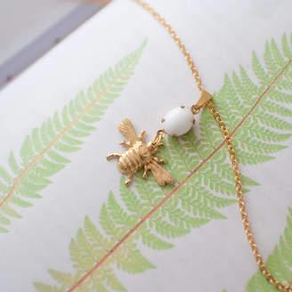Bumble Bee Melissa Morgan Designs Vintage Jewel Necklace