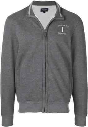 Hackett zipped sweatshirt