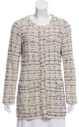 Bruno Manetti Tweed Long Sleeve Jacket