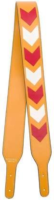 Visone colour-block bag strap