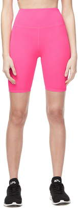 Good American Neon High Waist Bike Shorts