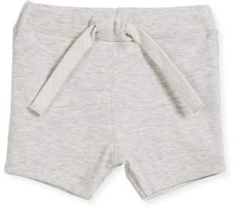Petit Bateau Cotton Drawstring Sweat Shorts, Size 6-36 Months