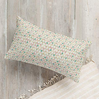 You Me Paris Lumbar Pillow