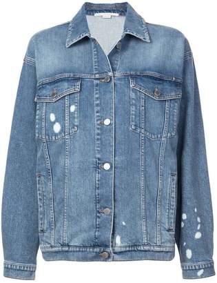 Stella McCartney painted denim jacket