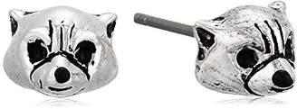 Marvel Unisex Guardians of The Galaxy Wee Rocket Stud Earrings