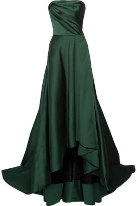 Jason Wu - Strapless Faille Gown - Emerald $4,995 thestylecure.com