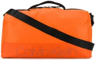 Calvin Klein logo patch holdall
