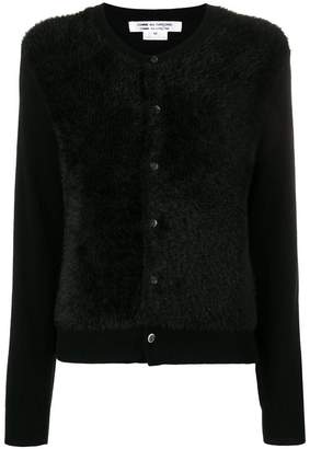Comme des Garcons long-sleeve fitted cardigan