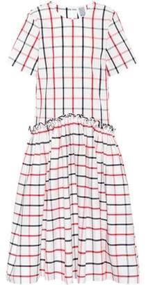 Rosie Assoulin Ebbs and Flows seersucker dress
