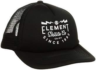 Element (エレメント) - [エレメント] [キッズ] メッシュ キャップ (サイズ調整可能) AI025-901 / RIFT TRUCKER CAP BOY/帽子 子供服 かわいい FBK_ブラック US F (FREE サイズ)