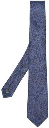 Lanvin paisley pointed tie