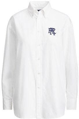 Polo Ralph Lauren Oxford Boyfriend Shirt $125 thestylecure.com