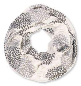 Brika Floral Infinity Scarf