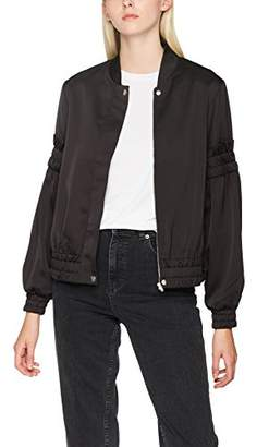 C/Meo COLLECTIVE Women's Double Take Bomber Jackets,(Manufacturer Size:Medium)