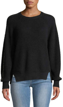 Joie Daxton Studded Crewneck Sweater