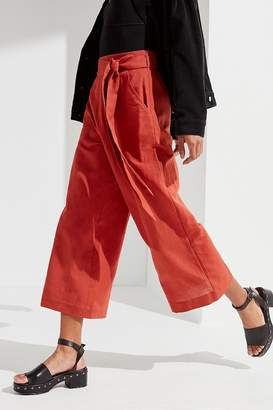 Urban Outfitters Madison Tie-Belt Culotte Pant
