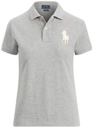Polo Ralph Lauren Skinny Fit Mesh Polo Shirt