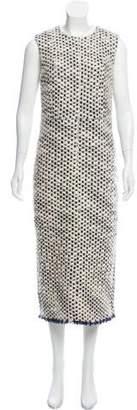Rochas 2016 Wool Sheath Dress