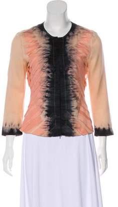 Prada Silk-Blend Jacket