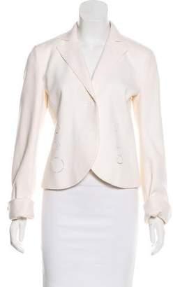 Akris Punto Wool and Angora Blend Jacket