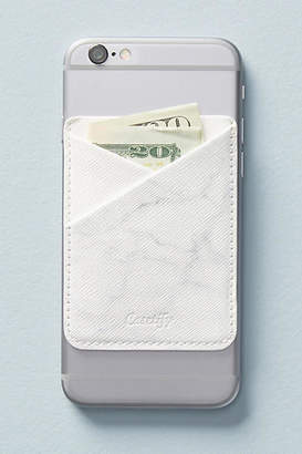 Casetify Marble Leather iPhone Wallet Pocket