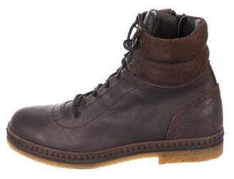 Dolce & Gabbana Boys' Leather Ankle Boots