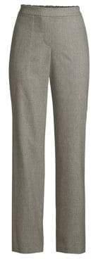 Lafayette 148 New York Fulton Elastic-Back Pants