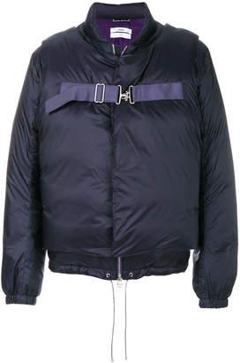 Oamc buckled padded jacket