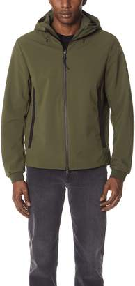 Woolrich Soft Shell Hooded Jacket