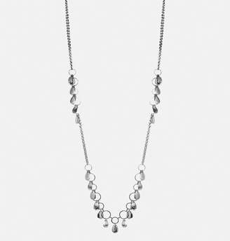 Avenue Teardrop Shaker Rope Necklace