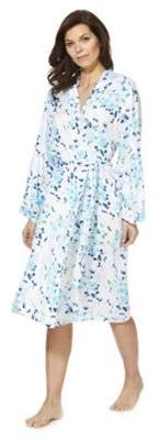 F&F Floral Print Dressing Gown 6
