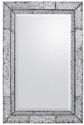 John-Richard Collection Églomisé Floor Mirror - Clear